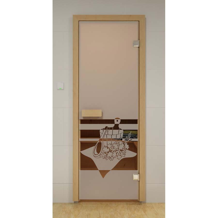 Двери Aldo ДСМ Банный вечер Прозрач.