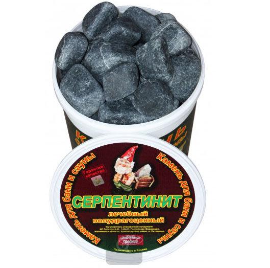 Камни для бани Серпентинитит-1 20 кг