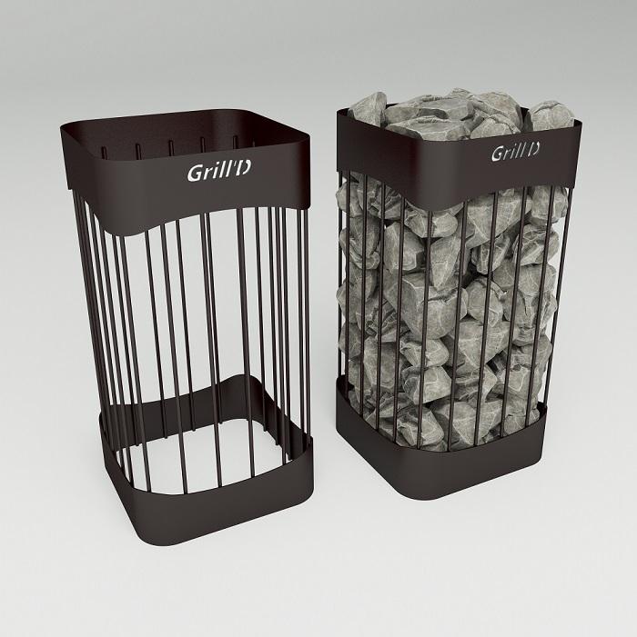 Grill`D сетка для камней Optima L600 D300 black