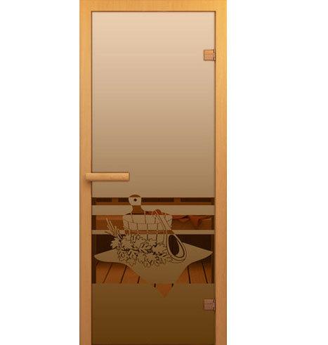 Двери Aldo ДСМ Банный вечер Бронза