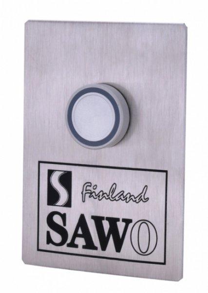 Кнопка подачи пара с подсветкой и кабелем 10м Sawo