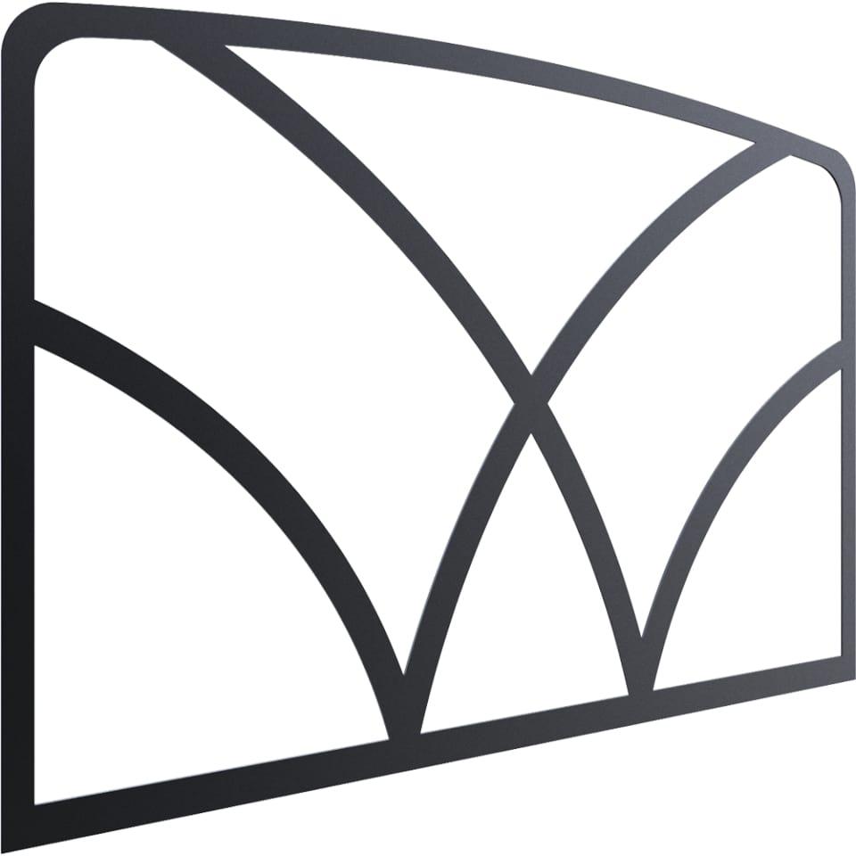 Декор дверцы Kratki VV(Koza/K7)